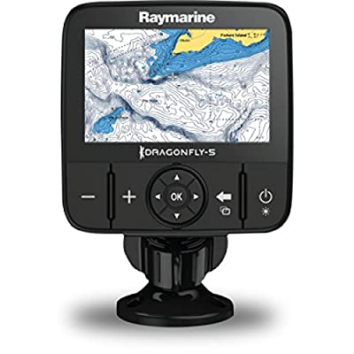 Raymarine Dragonfly-5M Sonar/GPs with US C-Map Essentials by Raymarine
