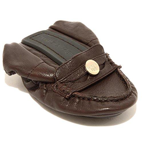 Pepe Bag Patrizia Scarpa Shoes Ballerina Women 96651 Donna Pelle Da Marrone Borsetta qwgtB8x