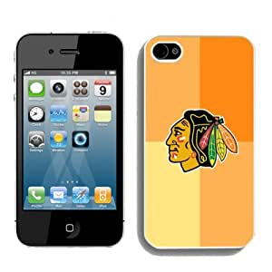 SevenArc NHL Chicago Blackhawks Iphone 4 or Iphone 4s Case High Quality