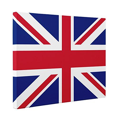 United Kingdom Flag CANVAS Wall Art Home Décor