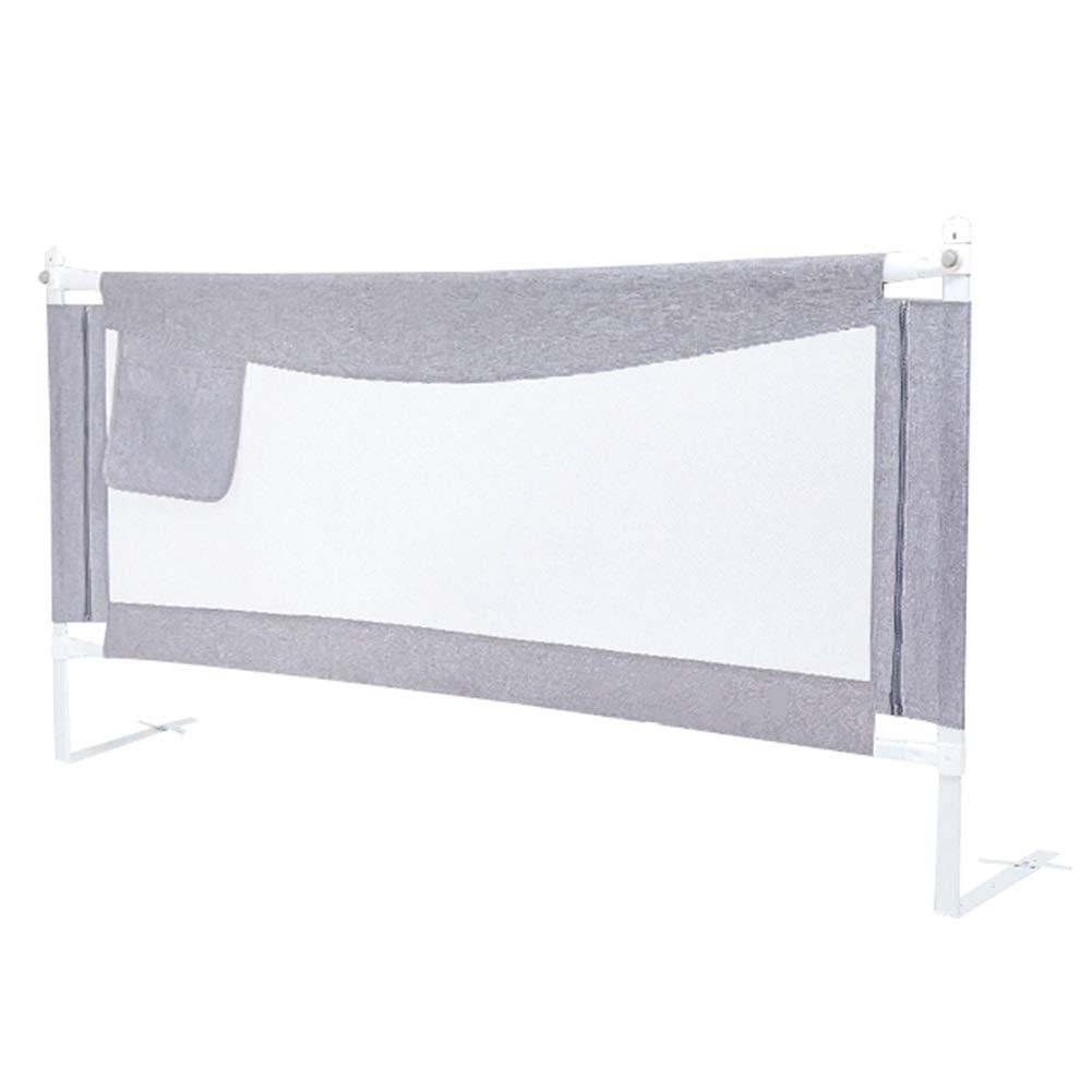 WHAIYAO ベッドレール防護柵乳児用安全製品ホームケア用補助装置3色4サイズ (Color : Gray, Size : 150X90CM) 150X90CM Gray B07TYR78PN