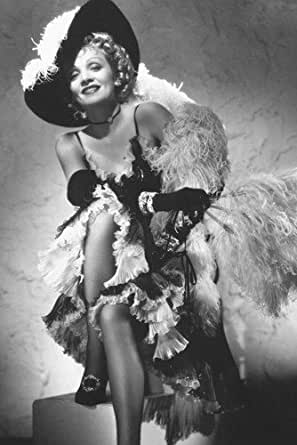 Marlene Dietrich B&W 11x17 Mini Poster Rancho Notorious at