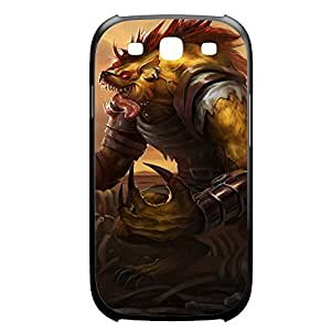 Warwick-002 League of Legends LoL For Case Iphone 6Plus 5.5inch Cover Plastic Black