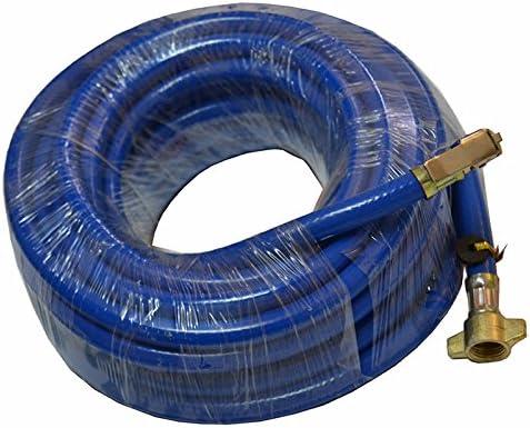 Reifenfüllschlauch Gummi Luftschlauch Druckluft Reifenfüller Hebelstecker Lkw 12meter Blau Auto