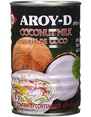 Aroy-D Latte di cocco per dolci, 400 ml, 8 pezzi