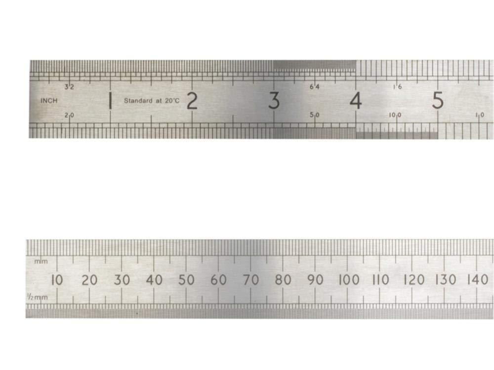 Advent Asr1000 1000 mm/1 m Pré cision Rè gle en acier –  Argent, argent, ASR600 Advent Tools