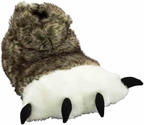 LazyOne Animal Paw Slippers