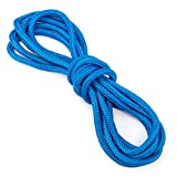 """15-foot Double-Braided 3/8"""" Thick Nylon Dockline by Crown Sporting Goods"""