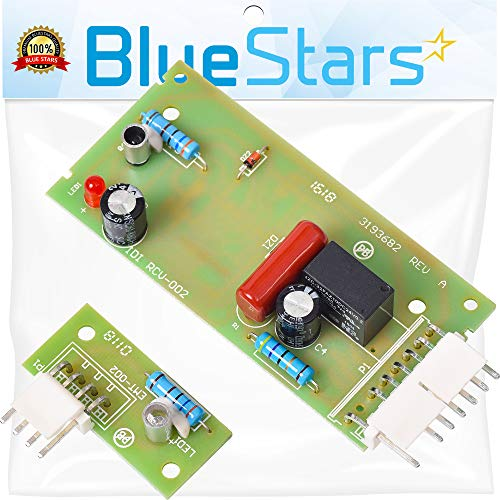 Ultra Durable 4389102 Refrigerator Control Board Kit Replacement by Blue Stars - Exact Fit For Whirlpool & Kenmore Refrigerators - Replaces W10193666 W10193840 W10290817