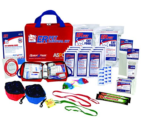 ER Emergency Ready Ultimate Deluxe Pet Survival Kit for Two Cats, PSKDCK