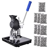 Yescom Semi-automatic #2 Die Hand Press Grommet Machine w/ 10000Pcs Grommets & Eyelet Feeding & Rolling Base Tool Kit
