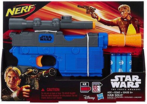 - Star Wars Episode VII Nerf Han Solo Blaster