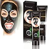 Black Peel Off Face Mask, Whitening Moisturizing Facial Mask Remove Blackheads Whiteheads, Shrink Pores, Skin Tightening Purifying, Face Oil Reducer Deep Cleaning, Women Men Gift
