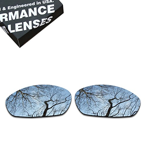 ToughAsNails Polarized Lens Replacement for Oakley Whisker Sunglass - More - Replacement Lenses Whisker Oakley
