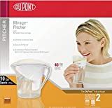 dupont water pitcher - DuPont WFPT200X Mirage Water Filter Pitcher