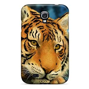 Tpu Fashionable Design Drawing Tiger Rugged Case Cover For Galaxy S4 New