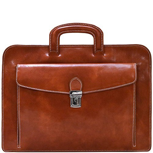 - Floto Leather Milano Sleeve Notebook Computer Case Bag