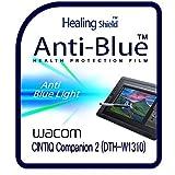 Screen Protector for WACOM CINTIQ Companion 2 DTH-W1310 , Anti Blue Light eye protection Screen Protector Clear LCD Shield Guard Healing Shield Film