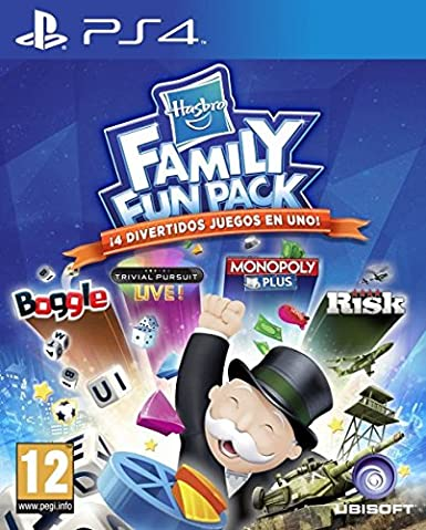Hasbro Family Fun Pack Playstation 4 Amazon Es Videojuegos