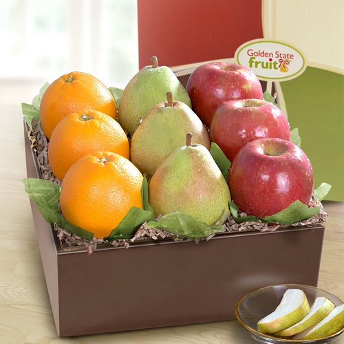 Catalina Trio Deluxe Fruit Gift by Golden State Fruit