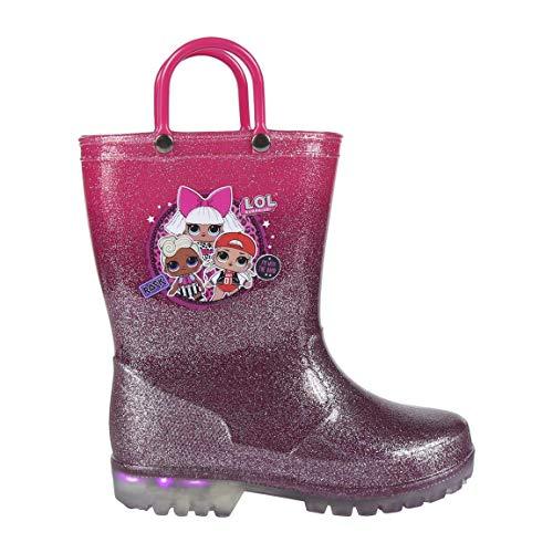LOL SURPRISE – Zapatos de lluvia con luces 28 al 33 Producto original invierno 2020