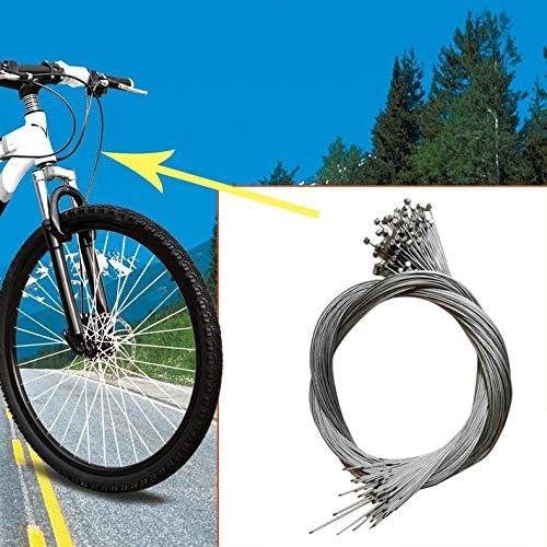 ghfcffdghrdshdfh 1 Unids MTB Bicicleta de Carretera Bicicleta Cable de Freno Interno Cable de Alambre 1.5m L/ínea de Freno sivler