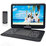 WONNIE 17.9'' Large Portable DVD/CD Player with 15.6 Swivel Screen, 1366x768 HD LCD