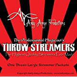 Professional Throw Streamers by Andy Amyx