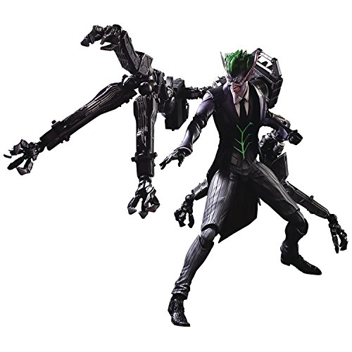 Square Enix DC Comics The Joker Play Arts Kai Action Figure Designed by Tetsuya Nomura