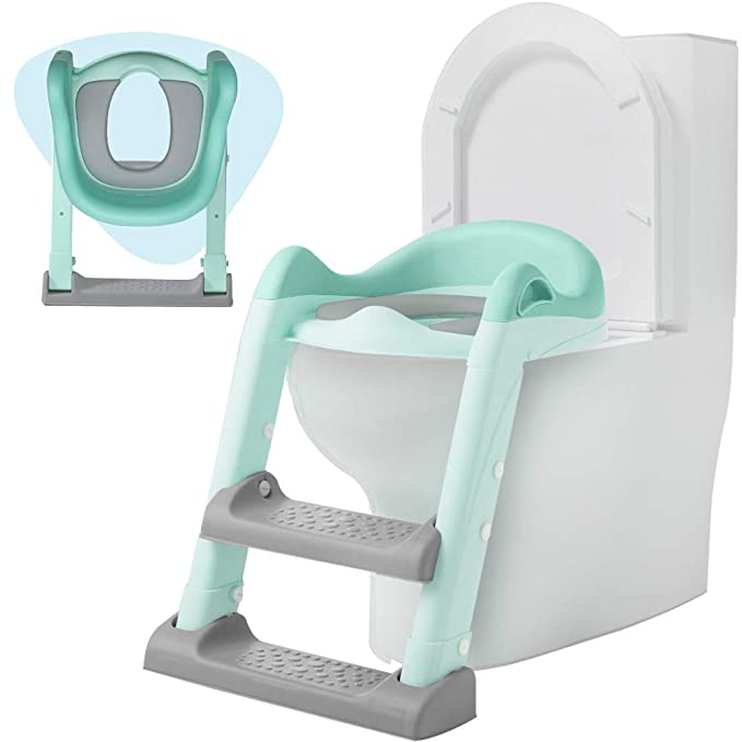 Potty Training Seat with Adjustable Ladder