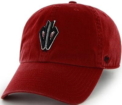 MLB Arizona Diamondbacks '47 Brand Clean Up Adjustable Cap, One Size, Razor Red