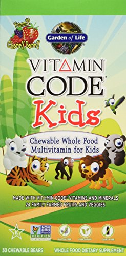 Garden of Life - Vitamin Code Kids Whole Food Multivitamin C