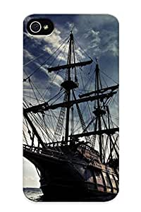 Sanp On Case Cover Protector For Iphone 4/4s (pirate Ship Oceans Skydoll ) For Christmas Day's Gift
