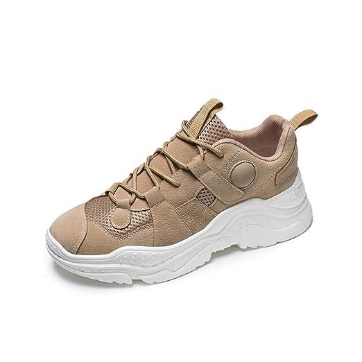 CATEDOT Zapatillas de Deporte con Cordones de Suela de ...