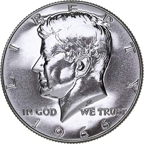 1966 1966 Kennedy SMS Special Mint Set 40% Silver Half 1/2 High Grade - Mint State