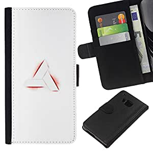 All Phone Most Case / Oferta Especial Cáscara Funda de cuero Monedero Cubierta de proteccion Caso / Wallet Case for HTC One M9 // Nimus Sign