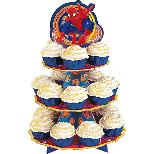 Wilton Cupcake Stand, (Spider Man Cakes)