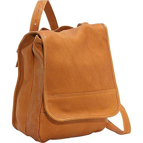le-donne-leather-convertible-back-pack-shoulder-bag-tan