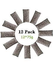 Luchtverfrisser Zak, Bamboo Charcoal nature luchtverfrisser zak Natuurlijke luchtverfrisser zakken, actieve kool Geurverwijderaar Luchtverfrisser Geschikt voor auto Badkamer Keuken Huisdierkast
