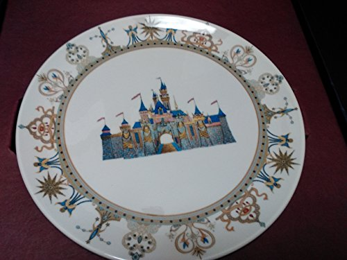 Disney Collectible Plates (Disneyland 50th Anniversary Collectible Plate #6 Sleeping Beauty Castle New)