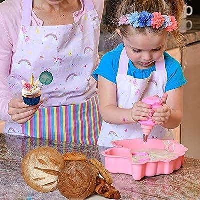 Unicorn Cake Mould Large Novelty Silicone Cake Tin Pan Baking Kids Party Fun