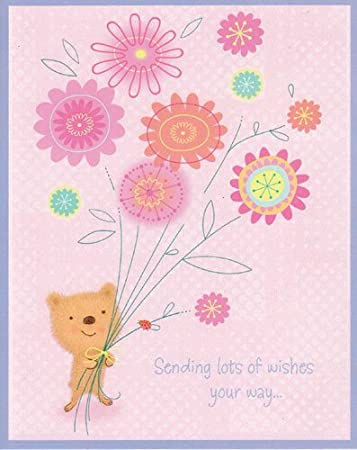 amazon com mother s day card sending lots of wishes your way