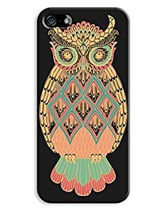 Colourful Pattern Owl Case for your iPhone 5/5S