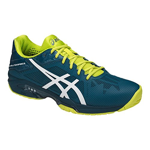 ASICS Herren Gel-Solution Speed ​�? Tennisschuh Tintenblau / Weiß / Sulphur Springs