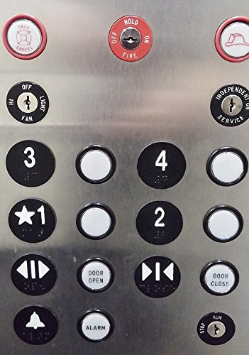 Home Comforts Laminated Poster Push Buttons Elevator Elevator Buttons Press Panel Poster Print 24 x 36