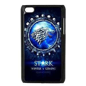 iPod 4 Black Cell Phone Case Game of Thrones Logo TGKG596768