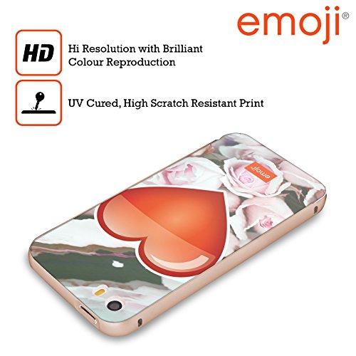 Officiel Emoji Coeur Solos Or Étui Coque Aluminium Bumper Slider pour Apple iPhone 5 / 5s / SE