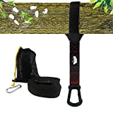 lovehope Hammock Chair Swing Straps Hanging Kit 10Ft Tree Swing Straps 2800+ LBS Heavy Duty 100% No Stretch Versatile Suspension System – Swing Rope Accessories Set Perfect for Tire and Saucer Swings