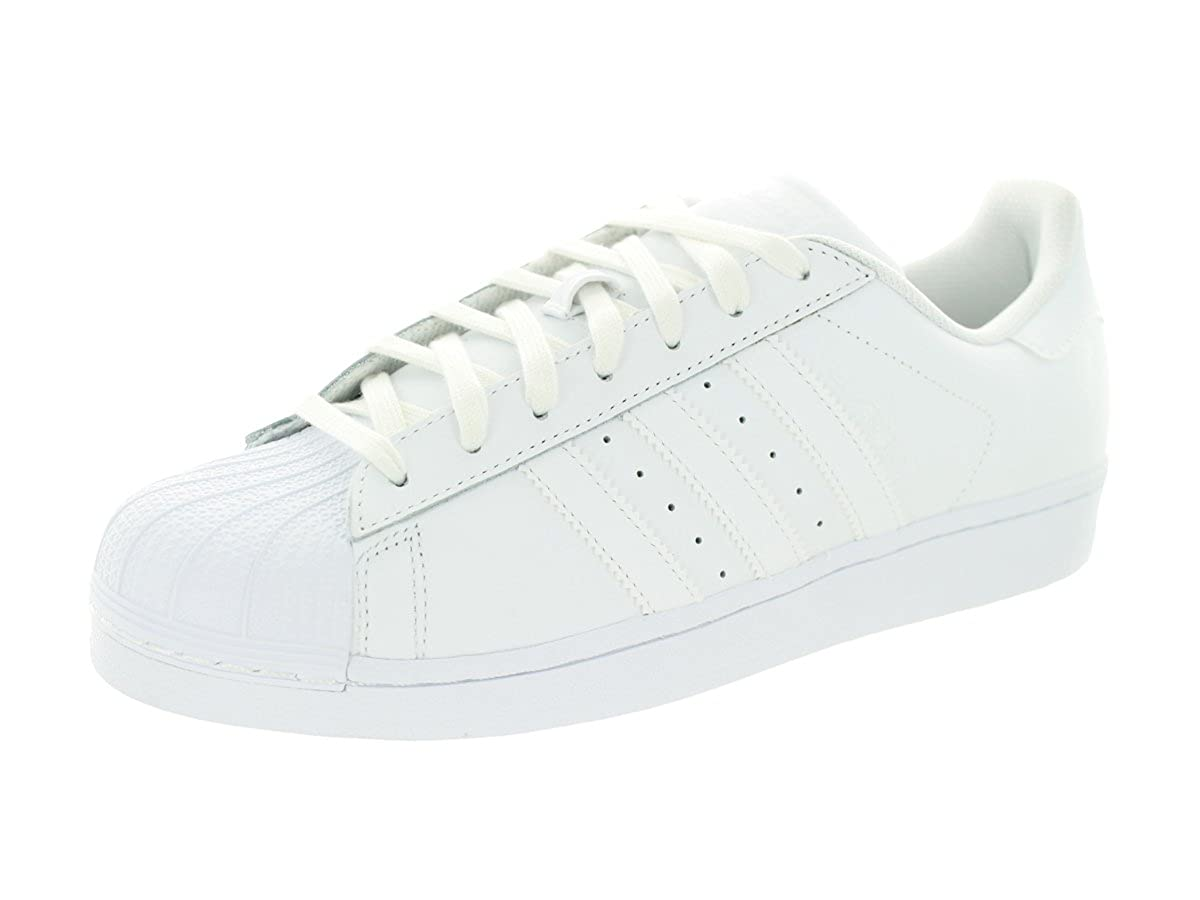 super popular 1384a 275ab Amazon.com   Adidas SUPERSTAR FOUNDATION Mens Sneakers B27136   Fashion  Sneakers