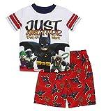 "LEGO Batman Little Boys ""Batman and Robin "" 2-Pc Pajama Short Set"